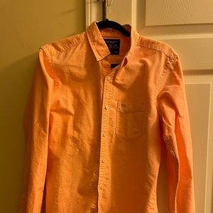 American eagle outfitters slim button down shirt